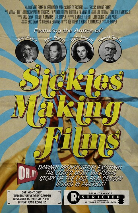 Sickies making films poster